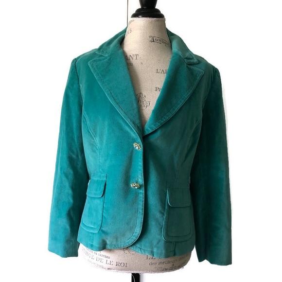 methode Jackets & Blazers - 🐰 Methode Suede Velour Velvet Blazer Double